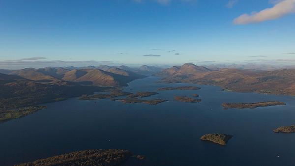 Loch Lomond, Scotland 291017.