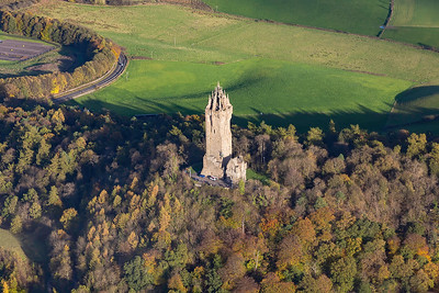 Wallace monument, Stirling, Scotland. 291017.