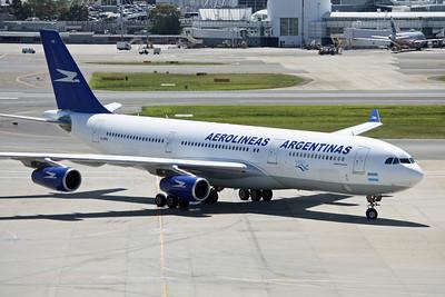 Aerolineas Argentinas Airbus A340-200 LV-ZPO
