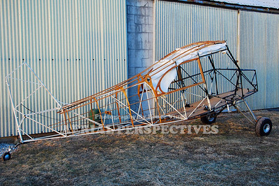 Aeronca Champ under construction at Central Jersey Airport