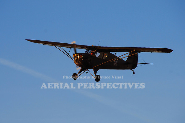 NC49152 - 1942 AERONCA L3B (O-58B)  Observation Plane for The US Army  Pilot: John M. Price