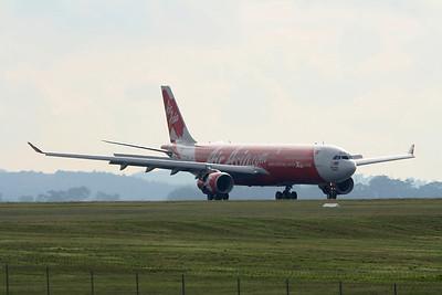 Air Asia X Airbus A330-300 9M-XXE