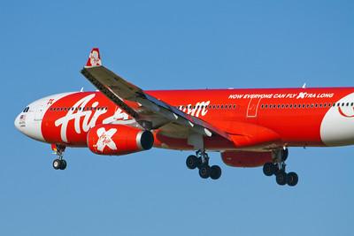 Air Asia X Airbus A330-300 9M-XXA