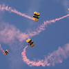 U.S. Army Golden Knight Parachutes