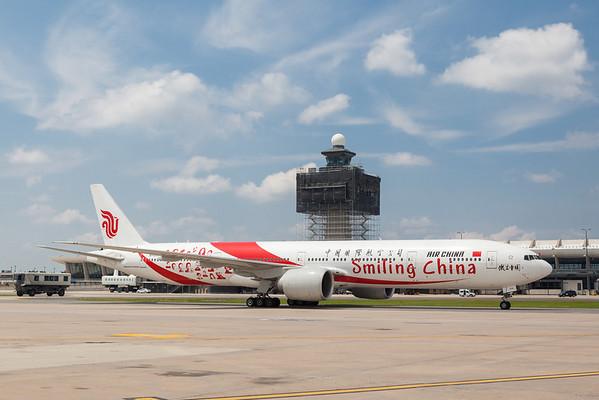 Air China at Washington Dulles International Airport