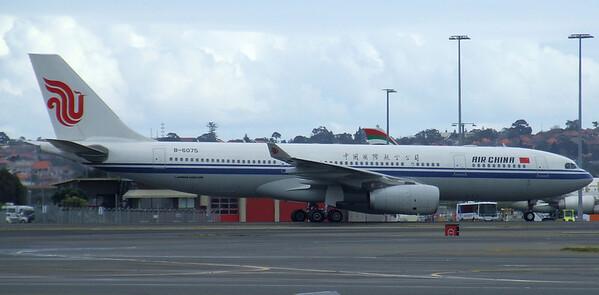 Air China Airbus A330-243 B-6075