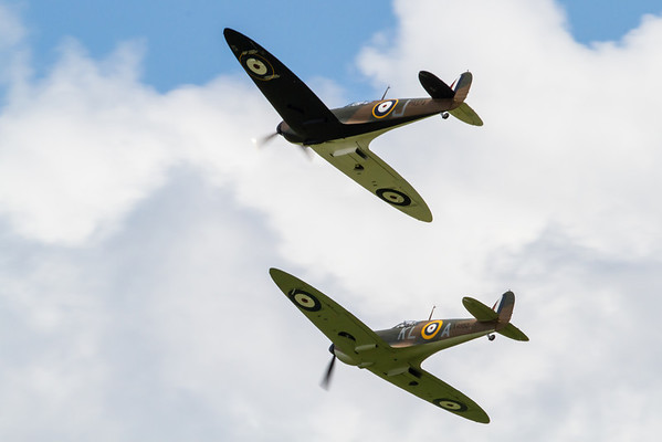 Flying Legends 2012 - in the air