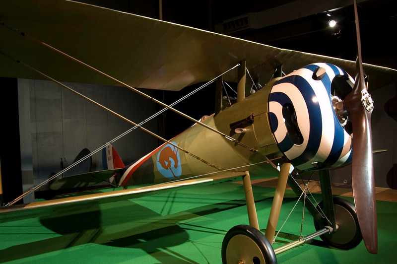Nieuport N.28C-1 at the NMUSAF