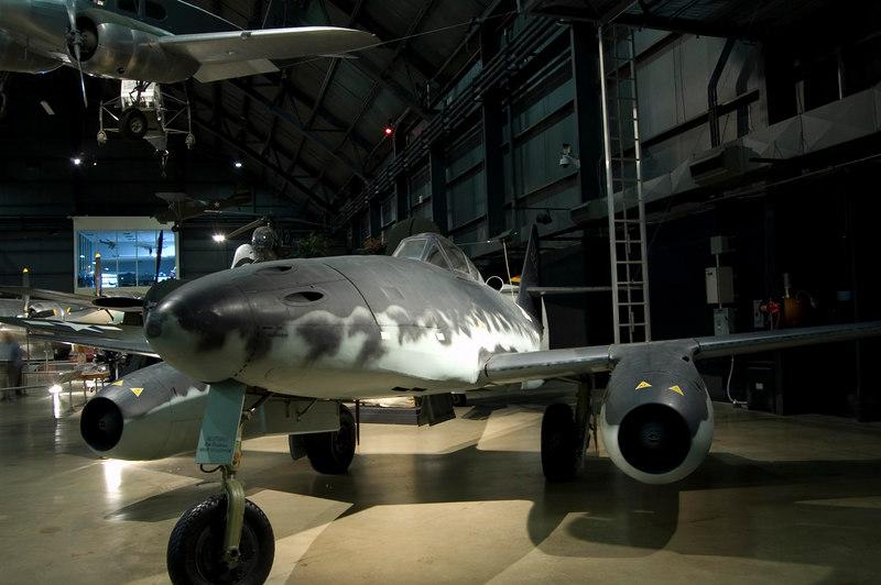 Messerschmitt Me 262A Schwalbe at NMUSAF