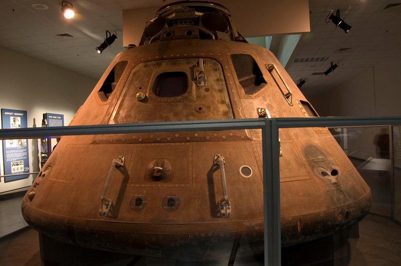 Apollo 15 Command Module at NMUSAF
