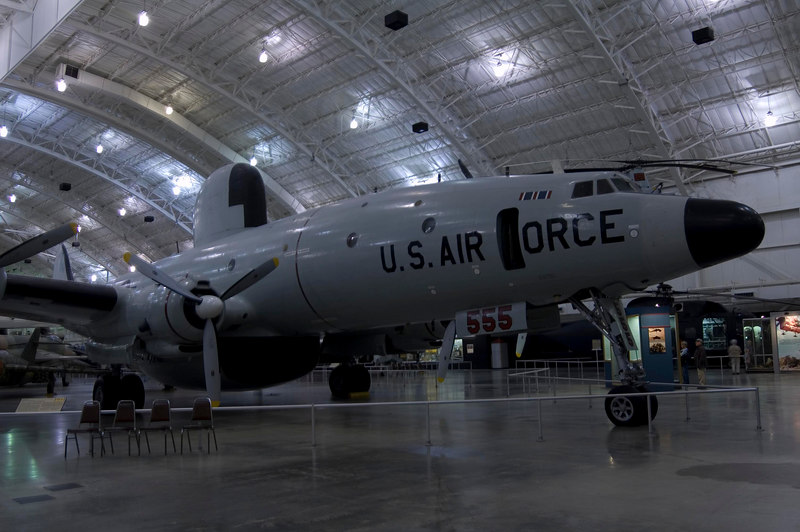 Lockheed EC-121D Constellation at NMUSAF