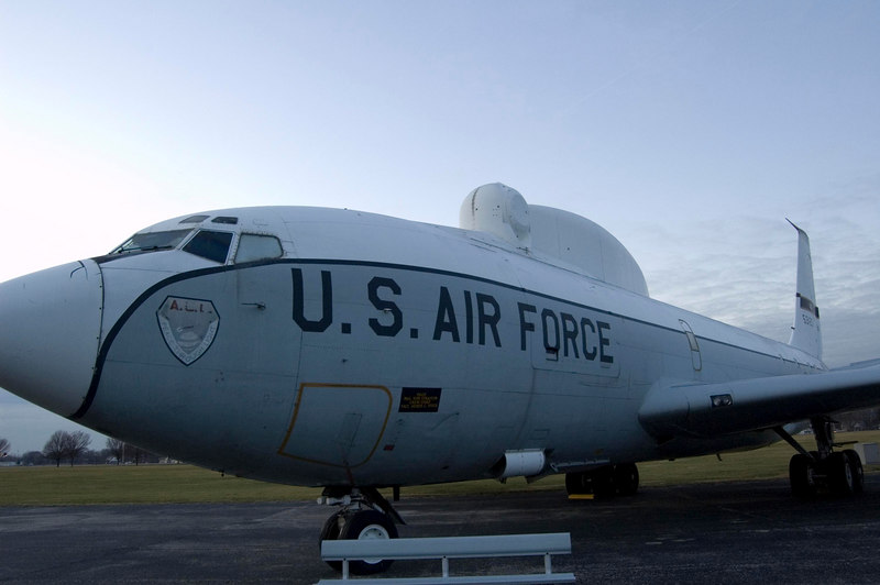 Boeing NKC-135A Airborne Laser Lab at NMUSAF