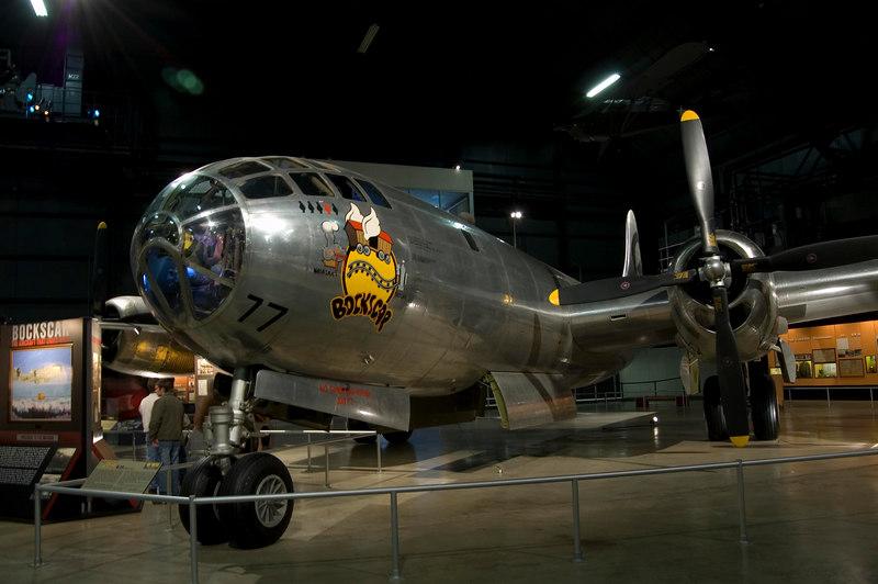 """Boeing B-29 Superfortress """"Bockscar"""" at NMUSAF"""