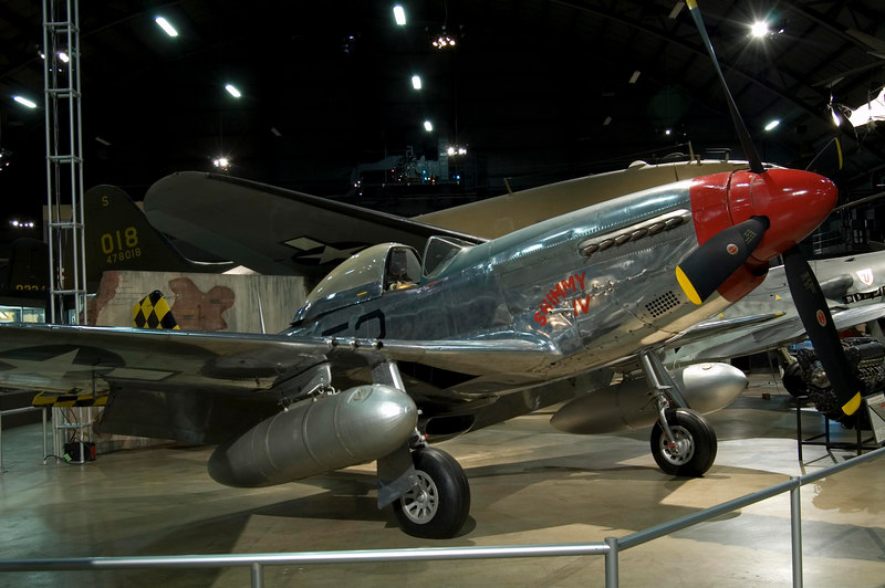 North American P-51D Mustang at NMUSAF