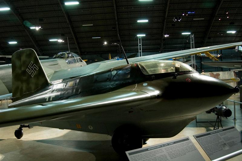 Messerschmitt Me 163B at NMUSAF