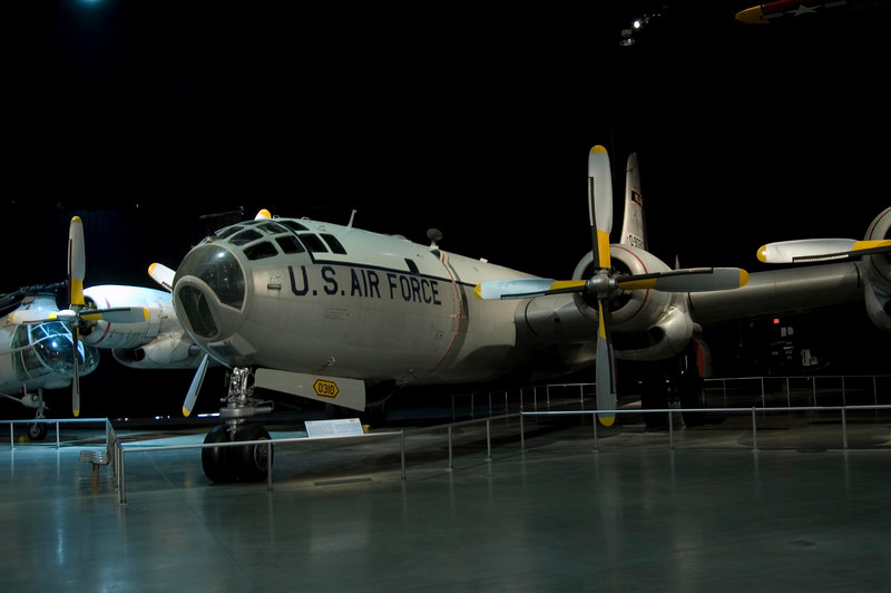 Boeing WB-50D Superfortress at NMUSAF