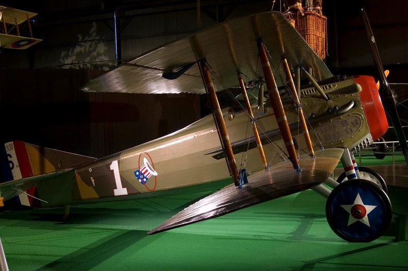 SPAD VII - Lafayette Escadrille - at NMUSAF