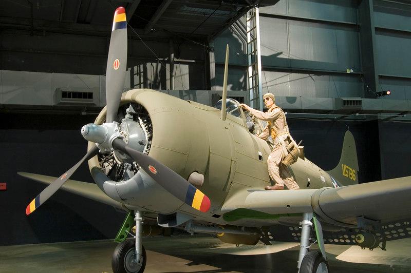 Douglas A-24 at NMUSAF