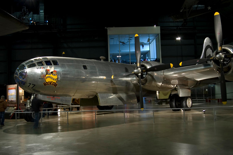 "Boeing B-29 Superfortress ""Bockscar"" at NMUSAF"