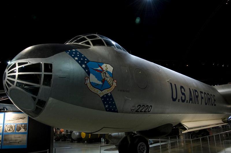 Convair B-36J Peacemaker at NMUSAF