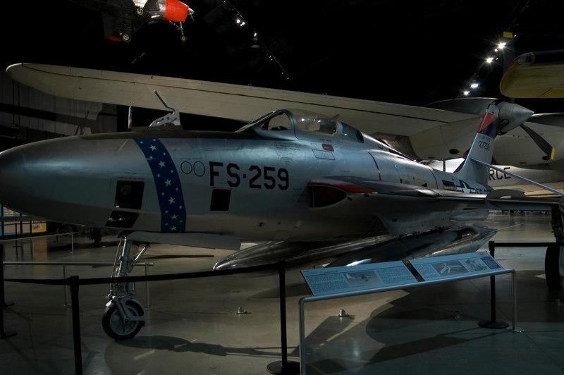 Republic RF-84K at NMUSAF