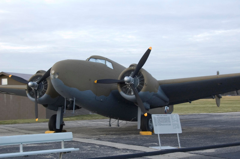 Lockheed C-60A Lodestar at NMUSAF