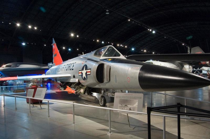 Convair F-102A Delta Dagger at NMUSAF