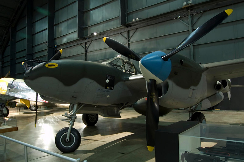 Lockheed P-38L Lightning at NMUSAF
