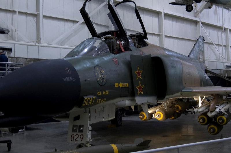 "McDonnell Douglas F-4C Phantom II ""SCAT XXVII"" at NMUSAF"