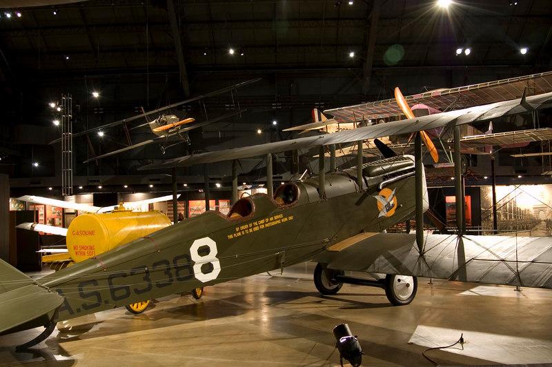 De Havilland DH-4 at NMUSAF
