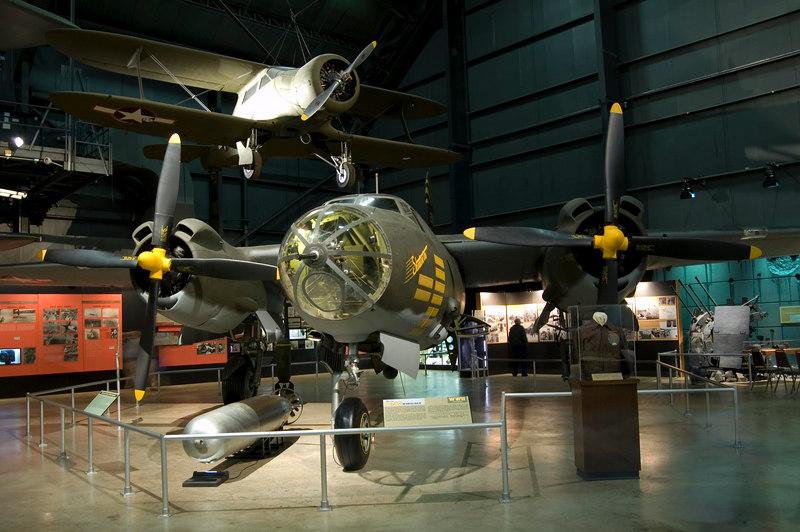 Martin B-26G Marauder at NMUSAF