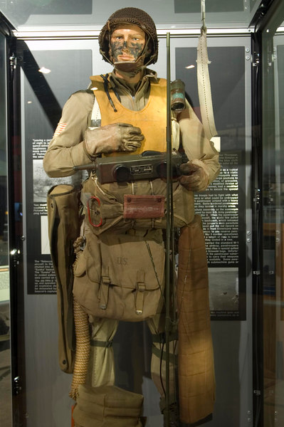 Normandy Paratrooper Uniform at NMUSAF