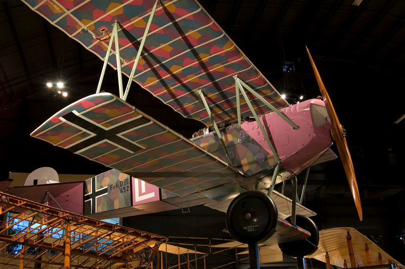 Fokker D. VII at NMUSAF