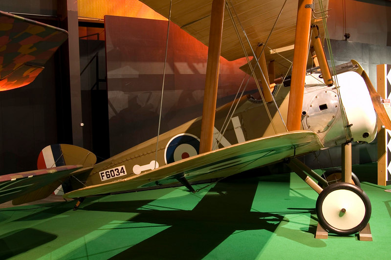 Sopwith F-1 Camel at the NMUSAF