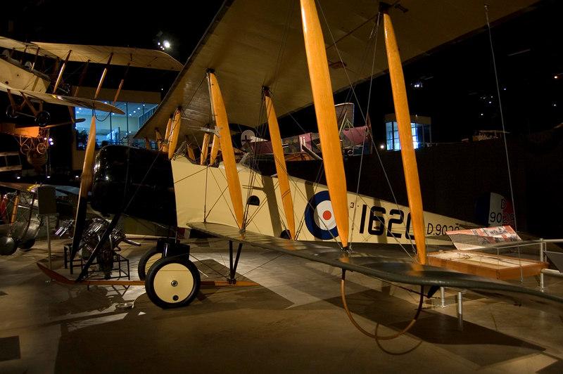 Avro 504K at the NMUSAF