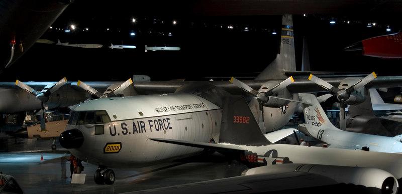 Douglas C-133A Cargomaster at NMUSAF