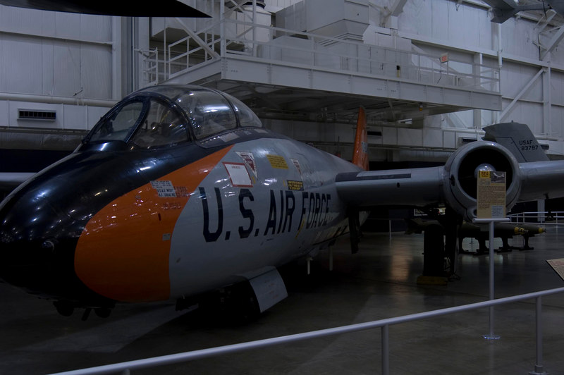 Martin EB-57B Canberra at NMUSAF