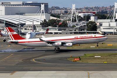 Air Mauritius Airbus A340-300 3B-NAY