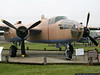 """B-25 Mitchel Bomber.  This aircraft was used in the filming of the movie """"Catch-22""""."""