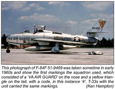 Virginia Air National Guard - F-84F