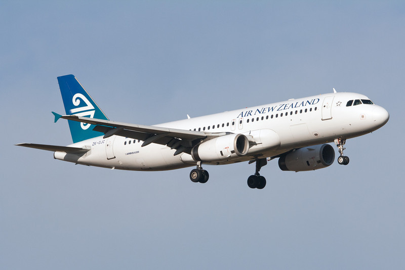 Air New Zealand Airbus A320-200 ZK-OJC