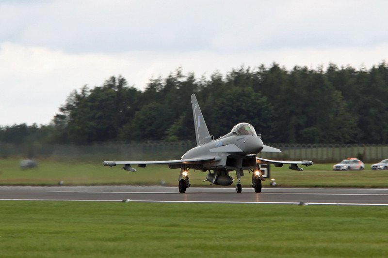 ZK333:EH BAe Typhoon (RAF Fairford) Royal Air Force 6SQN [2]