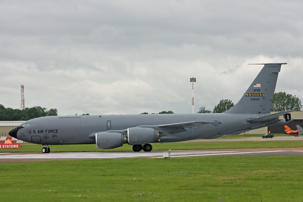 23-543 Boeing KC-135R Stratotanker (RAF Fairford) United States Air Force 459 ARW Air Force Reserve Command (AFRC)