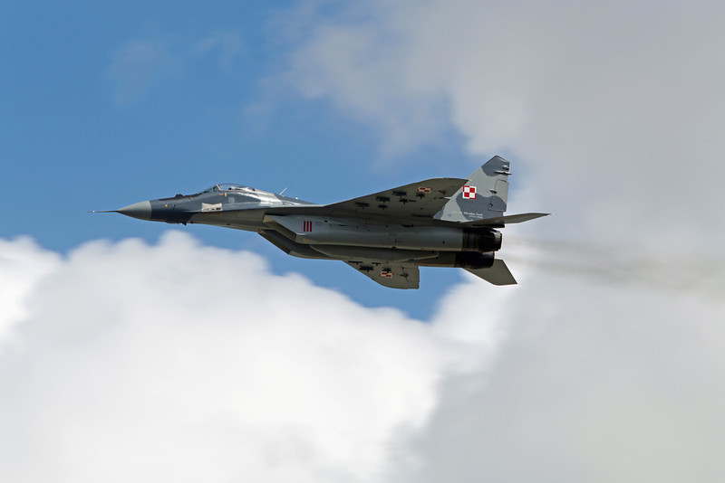 MIG-29 (RAF Fairford) Polish Air Force [5]