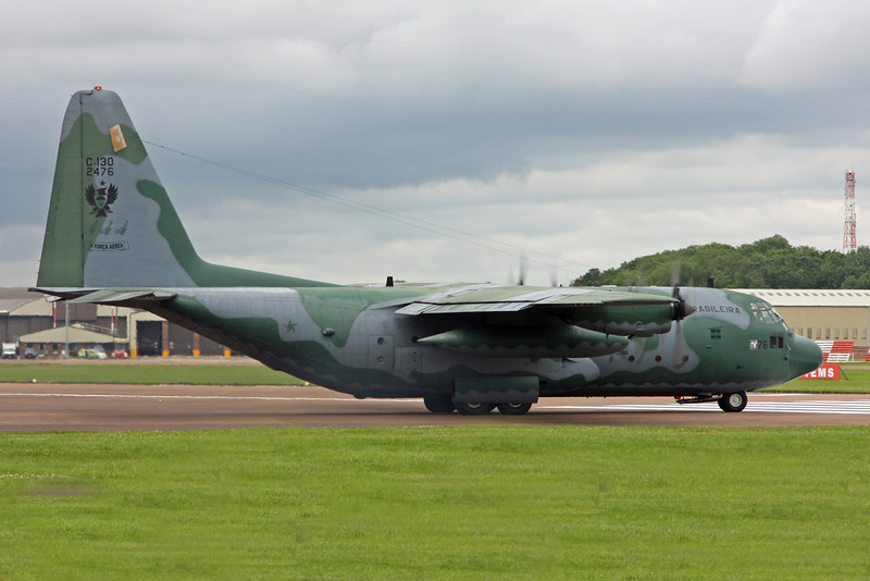 2476 Lockheed C-130M 'Hercules' (RAF Fairford) Forca Aerea Brasileira V (Brazilian Air Force)