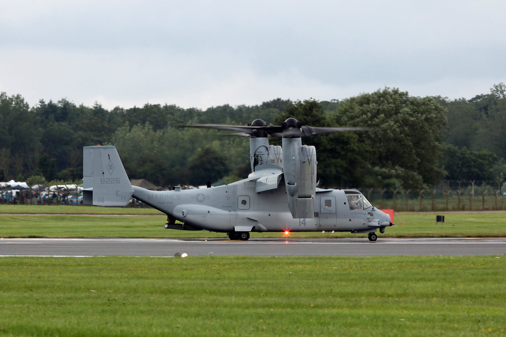 8226-14 Bell Boeing MV-22B 'Osprey' (RAF Fairford) USMC