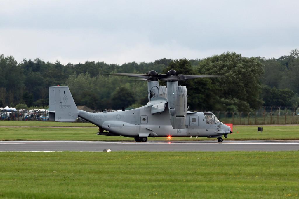 8226-14 Bell Boeing MV-22B 'Osprey' (RAF Fairford) USMC