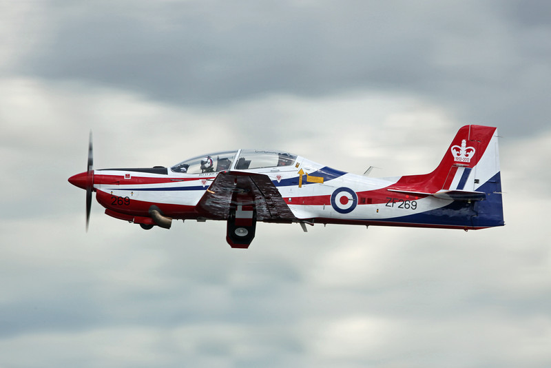 ZF269 Shorts Tucano T1 (RAF Fairford) Royal Air Force