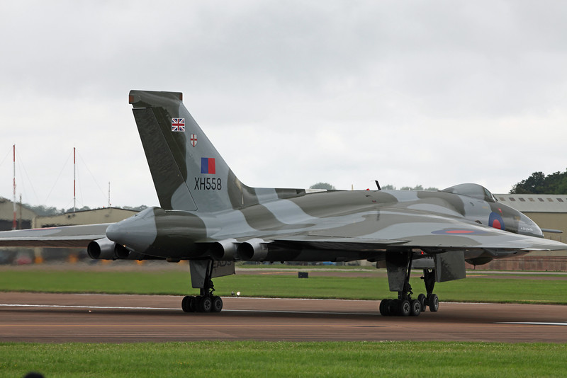 XH558 Vickers Vulcan B2 (RAF Fairford) Vulcan to the sky trust [1]