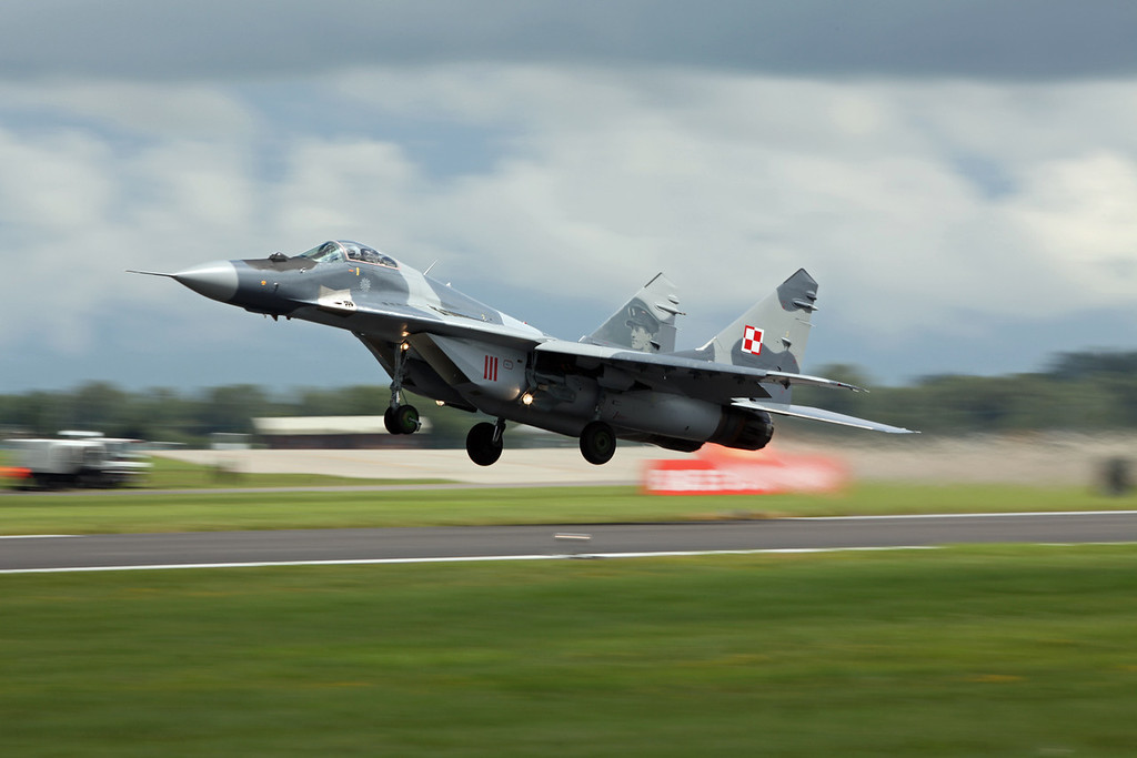 MIG-29 (RAF Fairford) Polish Air Force [8]